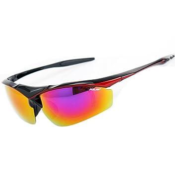 DZW Herren Sonnenbrille draußen Reiten Brille polarisiert Angeln Brille Ultra - leichte Sportbrille Anti - UV Sonnenbrillen , blue
