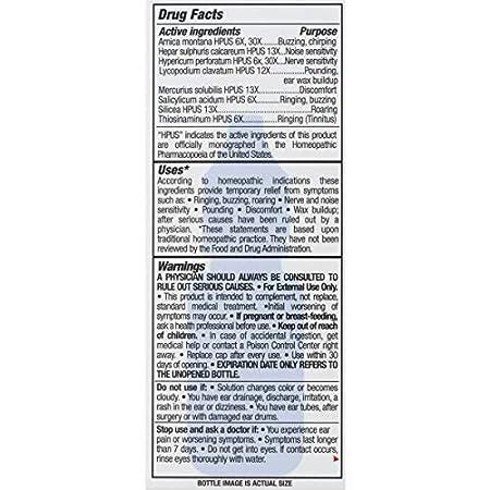 Amazon.com: El alivio Productos Anillo Alivio Fórmula, 0,33 ...
