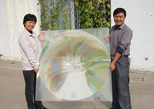 2-Pack Square Fresnel lens 350*350MM Focal Length 370mm for solar collecting, cooking outside,solar energy fresnel lens, DIY Project by Six Seasons (Image #5)