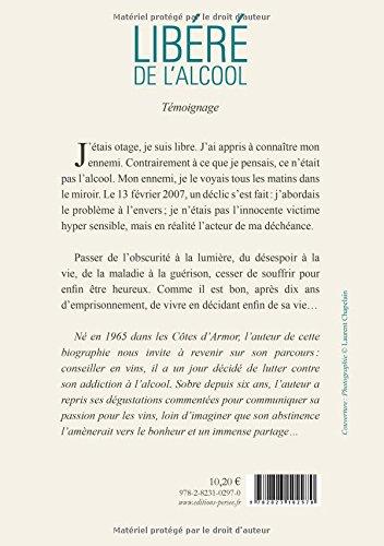 Amazon Fr Libere De L Alcool Laurent Chapelain Livres