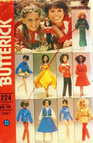 Butterick 6664 Marie Osmond Sewing Pattern, Wardrobe for 11 1/2