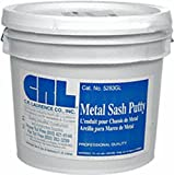 CRL Gray Metal Sash Putty - 3 Gallon