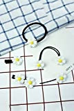 Generic (6 sets) wind small fresh Women Head hair rope Ties series of small daisy hair accessories School Ponytail Holder Band Hairband new Korean hairpin hair clip hairclip folder Liu seaside