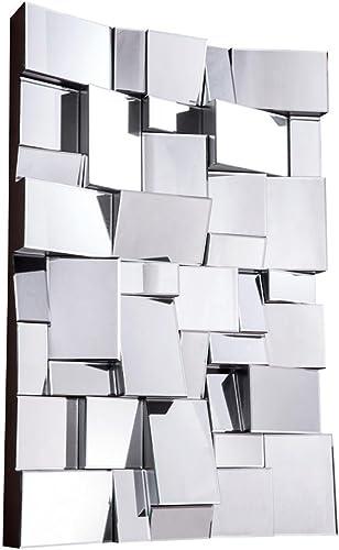 Elegant Lighting Modern Clear Mirror, 47 by 4.5 by 31.5