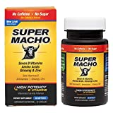 Super Macho Dietary Supplement with High Potency B