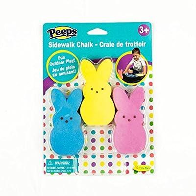 Peeps Sidewalk Chalk: Toys & Games [5Bkhe0207079]