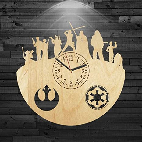 Amazon.com: star wars regalo para marido, Yoda reloj de ...
