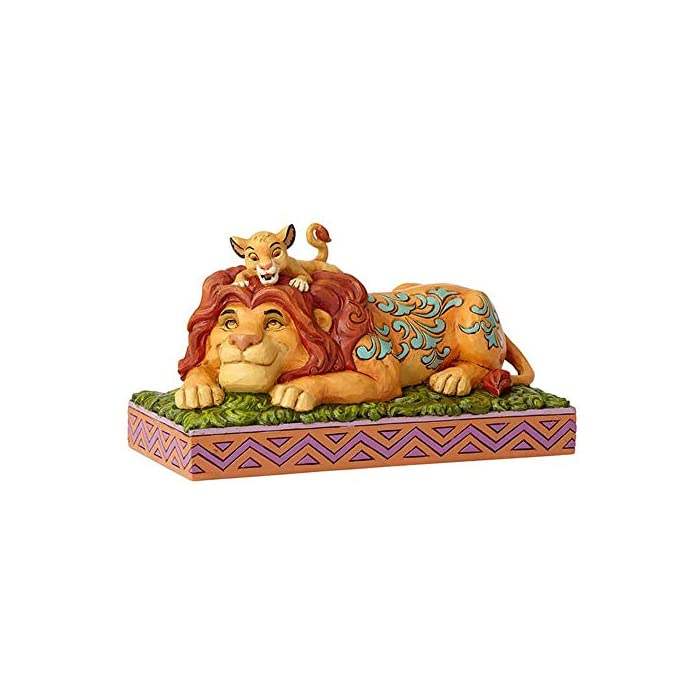 Figurina decorativa de la colección Disney Traditions Diseñada por Jim Shore Arte popular inspirado con colores vivos