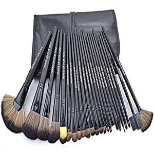 24 pcs light Pink professional Cosmetic Makeup Brushes Set Brush Make up Tool Kit Case