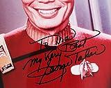 George Takei Signed 8x10 Star Trek Photo - COA JSA