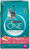Purina ONE Purposeful Nutrition Dry Cat Food - Salmon & Tuna Flavor - 3.5 lb