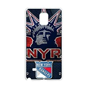 New Gift New York Rangers Durable Case for Samsung Galaxy Note 4 Snap On
