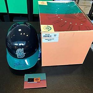 1990's Ken Griffey Jr. Signed Authentic Seattle Mariners Helmet COA Upper Deck Certified Autographed Hats