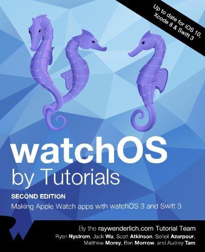 watchOs by Tutorials Making Apple Watch apps