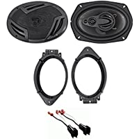 2014-2017 Chevrolet Chevy Silverado 1500 6x9 Front Speaker Replacement Kit