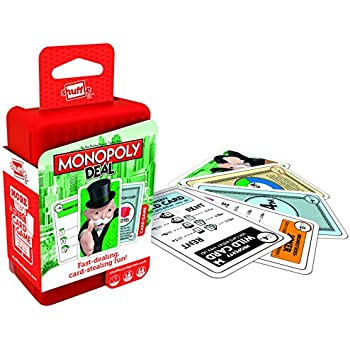 Amazon.com: Shuffle Monopoly Deal Disney Card Game: Toys & Games