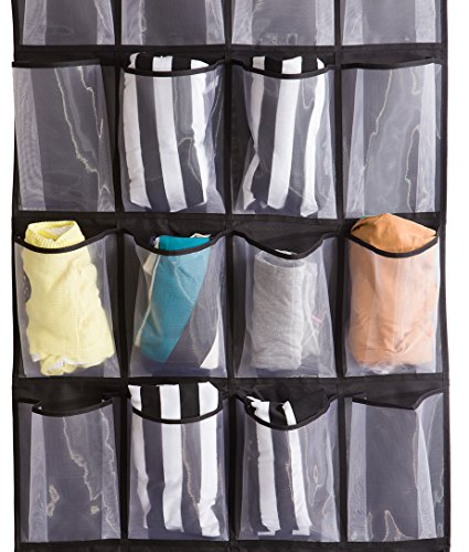 Misslo Sturdy Hanging Over The Door Shoe Organizer With 24
