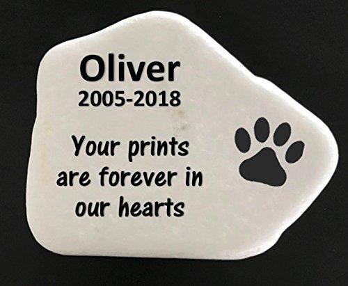 dog memory stones