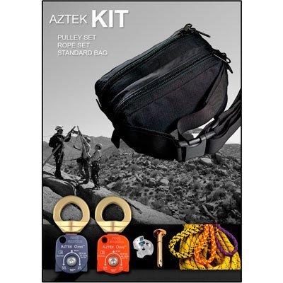 Rock Exotica Aztek Pulley Kit (1-Aztek Pulley Set, 1-Aztek Rope Set, 1-Aztek Bag)