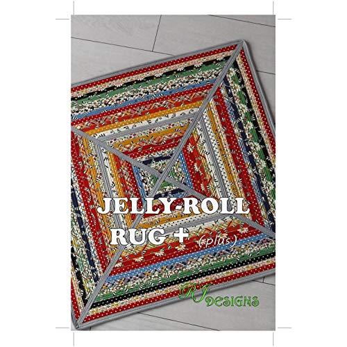 R.J. Designs RJD140 Jelly Roll Rug Plus Pattern