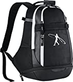 Men's Nike Swingman 3.0 Baseball Backpack Black/White Size One Size