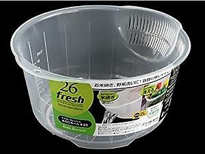 Japanese Plastic Fruit Vegetable Rice Washing Bowl from Japanese Plastic Fruit Vegetable Rice Washing Bowl