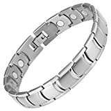 Best Willis Judd Jewelry Boxes - Willis Judd New Mens Titanium Magnetic Therapy Bracelet Review