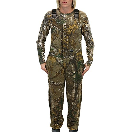Insulated Hunting Coverall - Walls Women's Hunting Insulated Bib Overall, Real Tree Max Five, S Regular