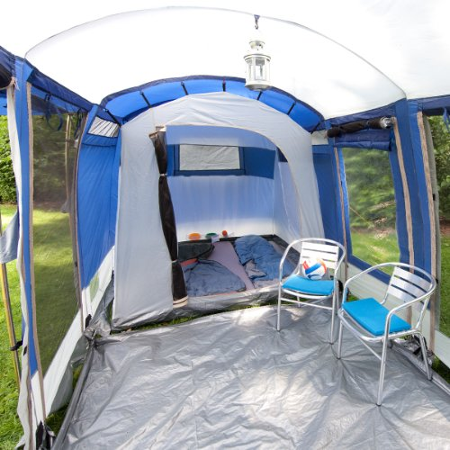 Skandika montana 6 man tent blue for Montana tent company