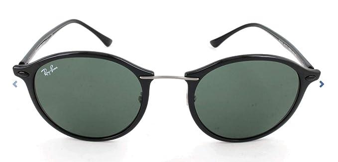 Amazon.com: Ray-Ban anteojos de sol redonda de los hombres ...