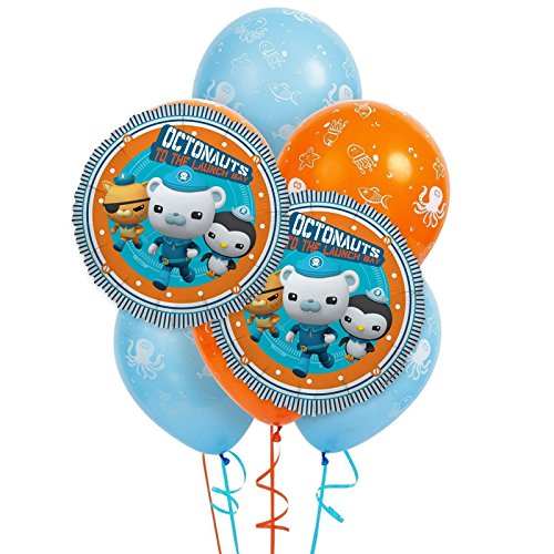BirthdayExpress Octonauts 8 pc Balloon Kit]()