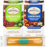 Best Twinings Tea Cups - Twinings Tea Bags Variety 18 Bags Each Energize Review
