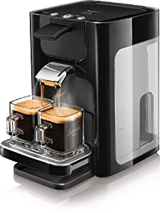 Senseo HD7863/60 Quadrante Kaffeepadmaschine (XL-Wassertank) schwarz