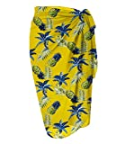 LIENRIDY Women's Beach Wrap Sarong Cover Up Chiffon Swimsuit Wrap Skirts 107-10-S-L
