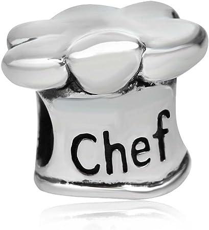 charm pandora cappello chef