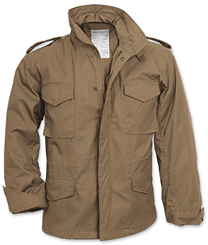 Manica Lunga M Da Beige Uomo Fieldjacket Us Surplus Giacca 65 SP008q