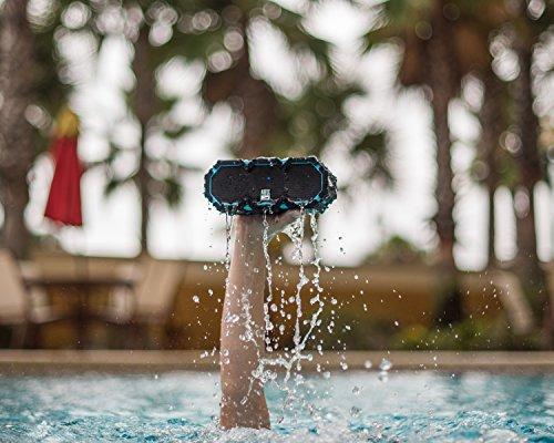 Altec Lansing IMW478s Mini LifeJacket-3 Bluetooth Wireless Speaker, 100FT Range Waterproof Speaker, ALL-Weatherproof, Speakerphone, 16 Hour Battery Life