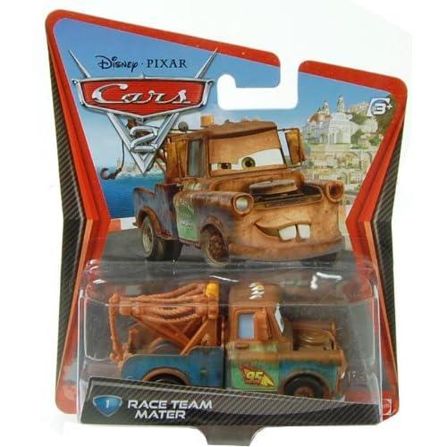 Cars Mattel - W1939 - Voiture Miniature 2 - Martin Equipe de Course