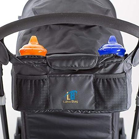 Magnetic Closure System High Quality Accessory Stroller Organizer by Luna Bag