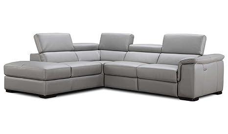 Amazon.com: J&M Furniture Perla Leather Left Facing ...