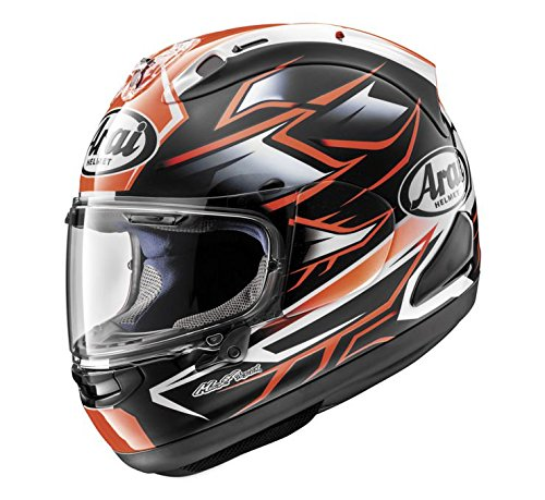 (Arai Corsair X Helmet - Ghost (Large) (RED))