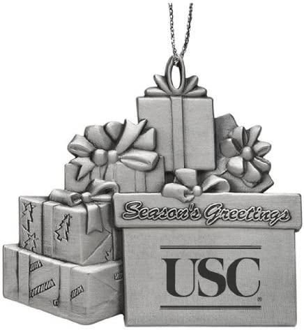 LXG University of South California Pewter Gift Package Ornament