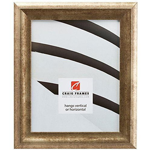 Craig Frames 203315 16 by 20-Inch Picture Frame, Smooth Wrap Finish, 1.5-Inch Wide, Vintage Gold