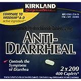 Anti-Diarrheal Loperamide Hydrochloride 2 mg 1200 Caplets Total (3 Packs of 2)