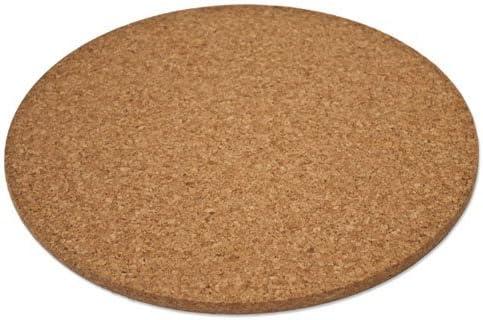 Aprox 16,5 x 16,5 Cent/ímetros, Espesor 10 mm Salvamanteles De Corcho Tejido
