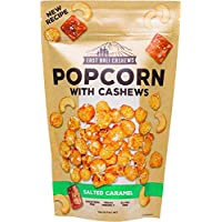 EAST BALI CASHEWS Salted Caramel Popcorn with Cashews, 90g