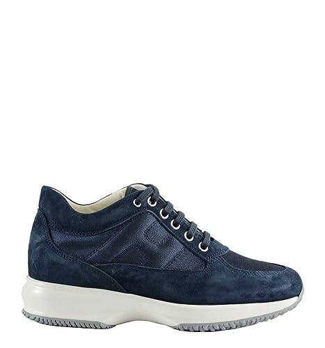 Hogan Interactive Sneakers Donna Blu H Laterale Imbottita HXW00N0E10FI70071  (35 7c29913290a