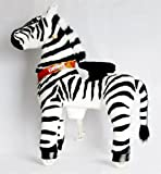 Ride On Horse for Children 4 to 9 Years Old or Up to 90 Pounds - MEDIUM SIZE PONYCYCLE (Color ZEBRA)