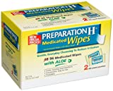 Preparation H Medicated Wipes, 96-Count Package (Pack of 3)