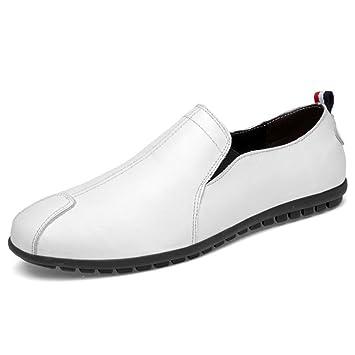CAI Zapatos de Hombre 2018 Primavera/Verano/Otoño Zapatos para Hombres Zapatos de Guisantes Zapatos Ocasionales Bottom Perezoso Zapatos Bajos Mocasines y ...
